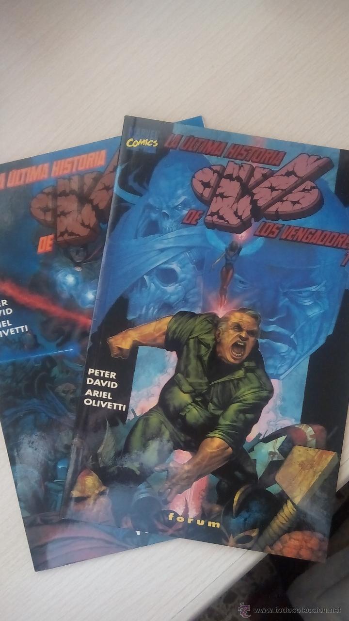 LA ULTIMA HISTORIA DE LOS VENGADORES - PETER DAVID -COMPLETA (Tebeos y Comics - Forum - Vengadores)
