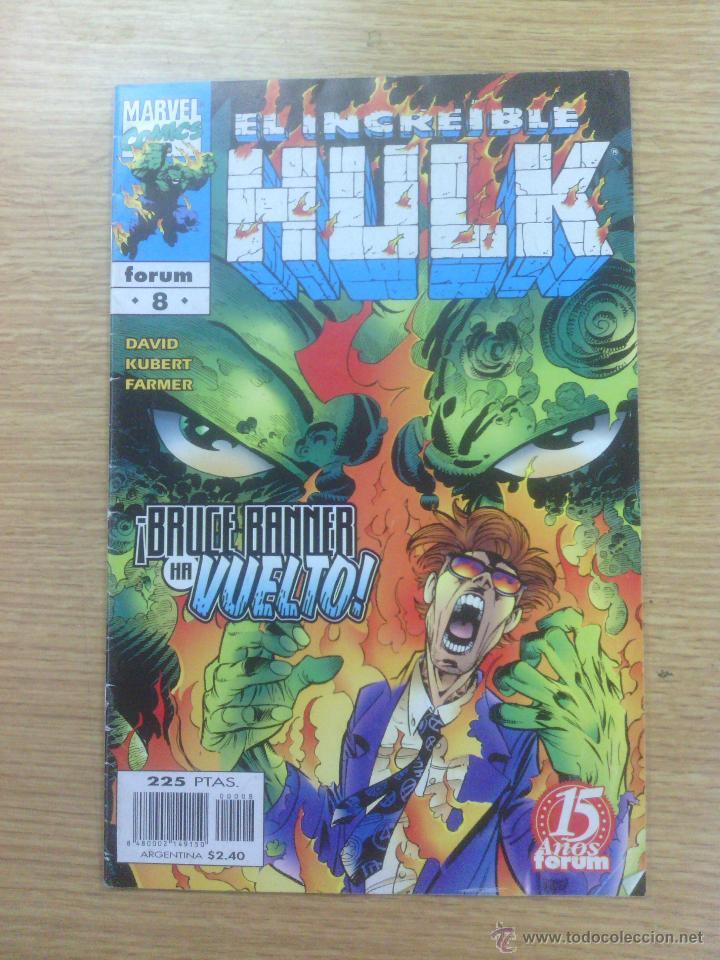 INCREIBLE HULK VOL 1 (HULK VOL 3) #8 (Tebeos y Comics - Forum - Hulk)