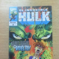 Cómics: INCREIBLE HULK VOL 1 (HULK VOL 3) #8. Lote 50687873