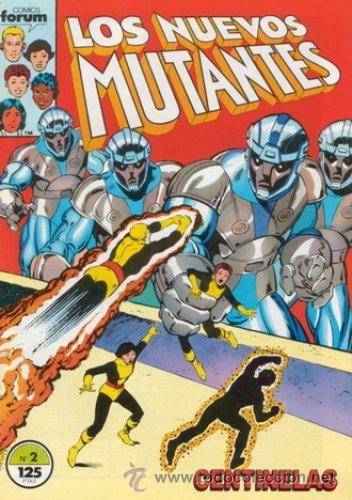 LOS NUEVOS MUTANTES LOTE DE 25 Nº 2-3-4-8-11-13-14-15- 17 AL 24-26-27-29-32-33-35-36-37-38 (Tebeos y Comics - Forum - Nuevos Mutantes)