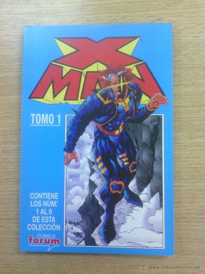 X-MAN VOL 2 RETAPADO #1 (NUMEROS 1 A 6) (Tebeos y Comics - Forum - Otros Forum)