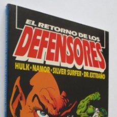 Cómics: EL RETORNO DE LOS DEFENSORES. Lote 50731678