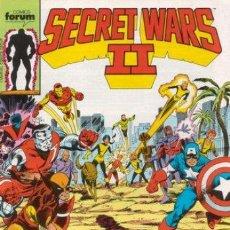 Cómics: SECRET WARS II LOTE DE 21 Nº. Lote 50733179