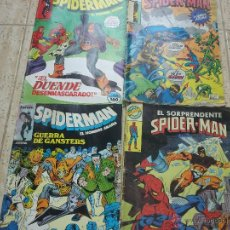 Cómics: 4 COMICS SPIDERMAN. Lote 50748668