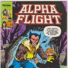 Cómics: ALPHA FLIGHT. FORUM. LOTE DE 2 EJEMPLARES: 10 Y 11.. Lote 50801571