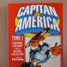 Comics : FORUM VOL. 3 CAPITAN AMERICA RETAPADO NºS 1 Y 2 CON 11 NUMEROS . Lote 50822007