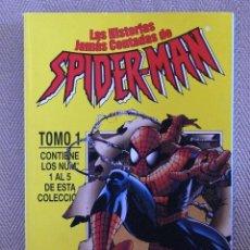 Comics : LAS HISTORIAS JAMAS CONTADAS DE SPIDERMAN FORUM TOMOS 1 Y 2 RETAPADOS CON 10 NUMEROS.. Lote 50822154