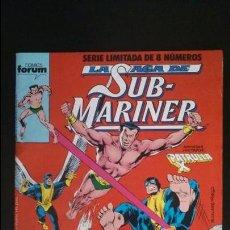 Cómics: LA SAGA DE SUB-MARINER Nº6 (FORUM-NAMOR-PATRULLA-X) GRAPAS OXIDADAS. Lote 50840958
