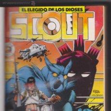 Cómics: SCOUT. EL ELEGIDO DE LOS DIOSES. FORUM. COLECCIÓN COMPLETA 19 EJEMPLARES ENCUADERNADA EN UN TOMO.. Lote 50869454