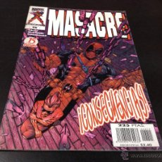 Cómics: MASACRE 15- CONSECUENCIAS. Lote 50962766