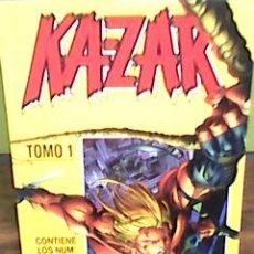 Cómics: KA - ZAR- RETAPADO TOMO 1 - NºS 1 A 5 - (FORUM, 1997) - KAZAR KA ZAR. Lote 51025964