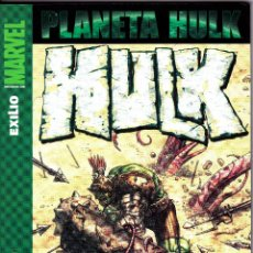Cómics: HULK 9. PLANET HULK : EXILIO. PANINI + TRES NUMEROS DE FORUM. Lote 51068479