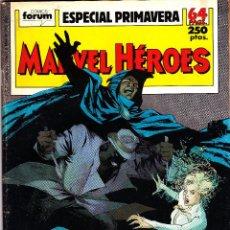 Cómics: MARVEL HEROES ESPECIALES PRIMAVERA Y VERANO 98. Lote 51149116