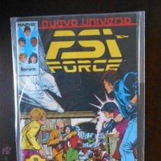 Cómics: PSI FORCE Nº 12 - NUEVO UNIVERSO - FORUM - MARVEL (A2). Lote 51155091