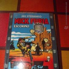 Cómics: NICK FURIA SCORPIO,TOMO TAPA DURA NUEVO A ESTRENAR(TODAVÍA CON SU PLÁSTICO ).. Lote 51189710
