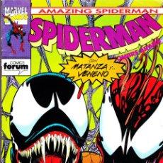 Cómics: 9 NUMEROS ARACNIDOS. SPIDERMAN, SPIDER-WOMAN, NEW WARRIORS. Lote 153066300