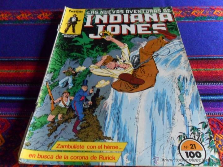 Cómics: FORUM VOL. 1 LAS NUEVAS AVENTURAS DE INDIANA JONES Nº 26 Y ÚLTIMO. REGALO Nº 21. 1985. 100 PTS. - Foto 2 - 257694205