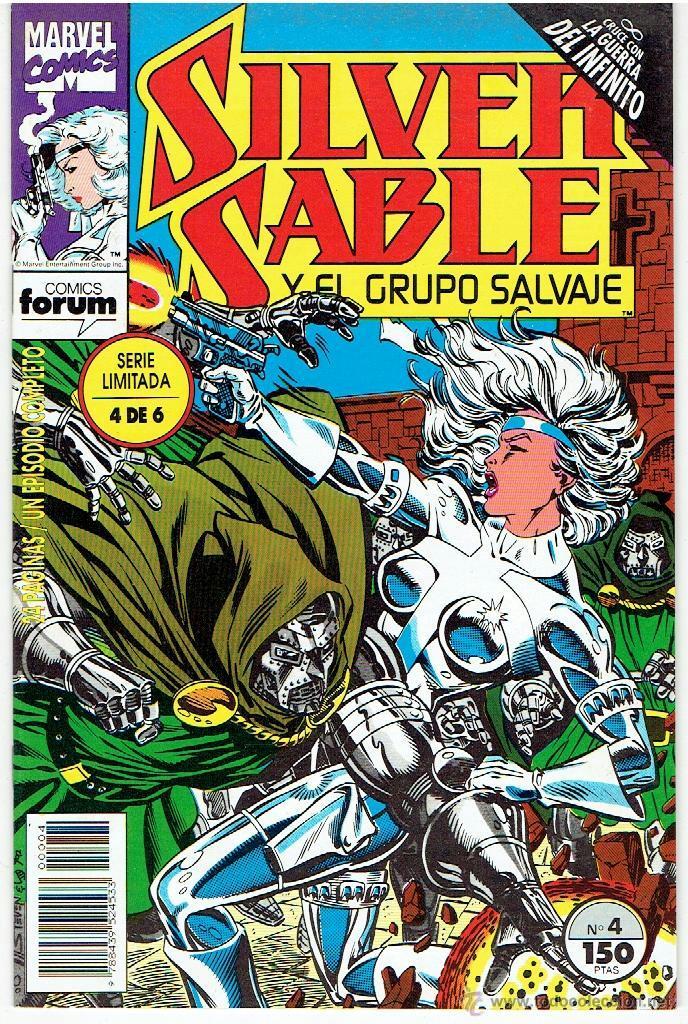 SILVER SABLE Y EL GRUPO SALVAJE Nº 4 (Tebeos y Comics - Forum - Silver Surfer)