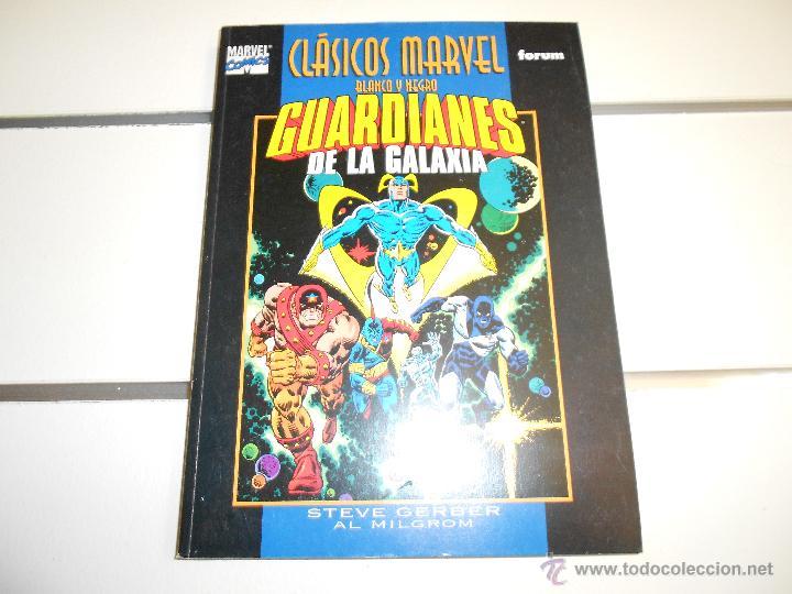 CLÁSICOS MARVEL EN BLANCO Y NEGRO GUARDIANES DE LA GALAXIA (Tebeos y Comics - Forum - Prestiges y Tomos)