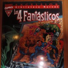 Cómics: BIBLIOTECA MARVEL 4 FANTASTICOS Nº 20 *IMPECABLE*. Lote 51386353