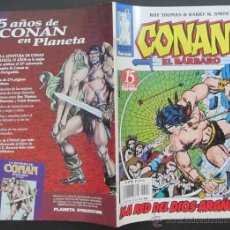 Cómics: COMIC CONAN EL BARBARO NUMERO 13. GUION: ROY THOMAS DIBUJO: BARRY W. SMITH. Lote 51419213