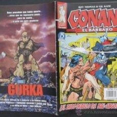 Cómics: COMIC CONAN EL BARBARO NUMERO 17. GUION: ROY THOMAS DIBUJO: GIL KANE. Lote 51419282