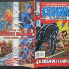 Cómics: COMIC CONAN EL BARBARO NUMERO 18. POSTER CENTRAL. GUION: ROY THOMAS DIBUJO: GIL KANE. Lote 51419542