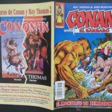 Cómics: COMIC CONAN EL BARBARO NUMERO 28. PÓSTER CENTRAL. GUION: ROY THOMAS DIBUJO: JOHN BUSCEMA. Lote 51419717
