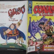 Cómics: COMIC CONAN EL BARBARO NUMERO 30. GUION: ROY THOMAS DIBUJO: JOHN BUSCEMA. Lote 51419830