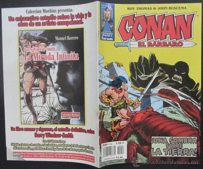 COMIC CONAN EL BARBARO NUMERO 56. GUION: ROY THOMAS DIBUJO: JOHN BUSCEMA (Tebeos y Comics - Forum - Conan)