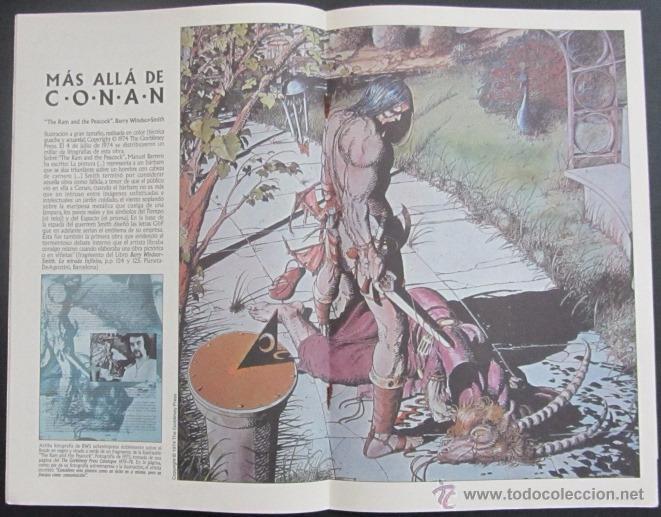 Cómics: comic CONAN El Barbaro numero 56. Guion: Roy Thomas Dibujo: John Buscema - Foto 2 - 51419932