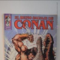 Cómics: EL REINO SALVAJE DE CONAN 17 - FORUM - FANTASIA HEROICA - 2002. Lote 51466128