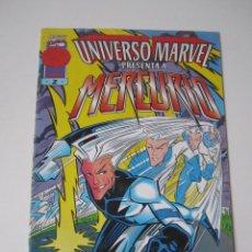 Cómics: MERCURIO EL UNIVERSO MARVEL Nº 2 X-MEN MARVEL COMIC FORUM PLANETA DEAGOSTINI QUICKSILVER TEBEO . Lote 51479163