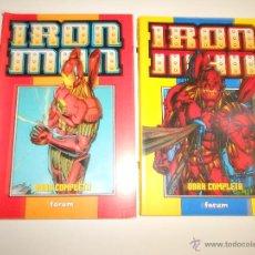 Cómics: OBRA COMPLETA. HEROES REBOURN. IRON MAN. Lote 51500438