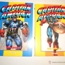 Cómics: OBRA COMPLETA. HEROES REBOURN. CAPITAN AMERICA. Lote 51500447
