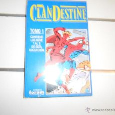 Cómics: OBRA COMPLETA. CLANDESTINE. Lote 51500896