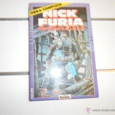 Cómics: OBRA COMPLETA. NICK FURIA. CONTRA SHIELD. Lote 51500953