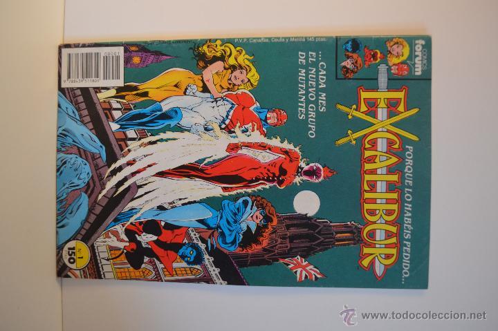 Cómics: EXCALIBUR 1 Y 2 - ESTADO IMPECABLE - FORUM - MARVEL - 1989 - Foto 2 - 51541309
