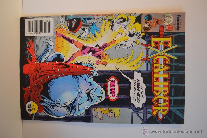 Cómics: EXCALIBUR 1 Y 2 - ESTADO IMPECABLE - FORUM - MARVEL - 1989 - Foto 3 - 51541309