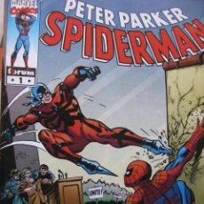 Cómics: PETER PARKER SPIDERMAN. 5 AÑOS EXCELSIOR. NROS 1 AL 3. MARVEL COMICS FORUM. (COMO NUEVOS). Lote 51594427