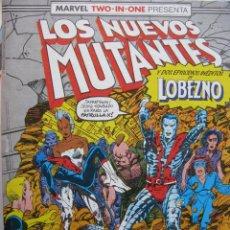 Cómics: LOS NUEVOS MUTANTES DOS EPISODIOS DE LOBEZNO. RETAPADO. NROS 45,46 Y 47. COMICS FORUM.. Lote 51594679
