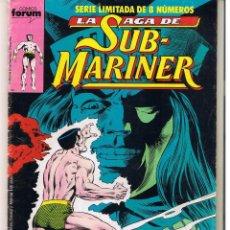 Cómics: LA SAGA DE SUB MARINER. SERIE LIMITADA. Nº 5. (DE 8) FORUM. (C/A19). Lote 51598274