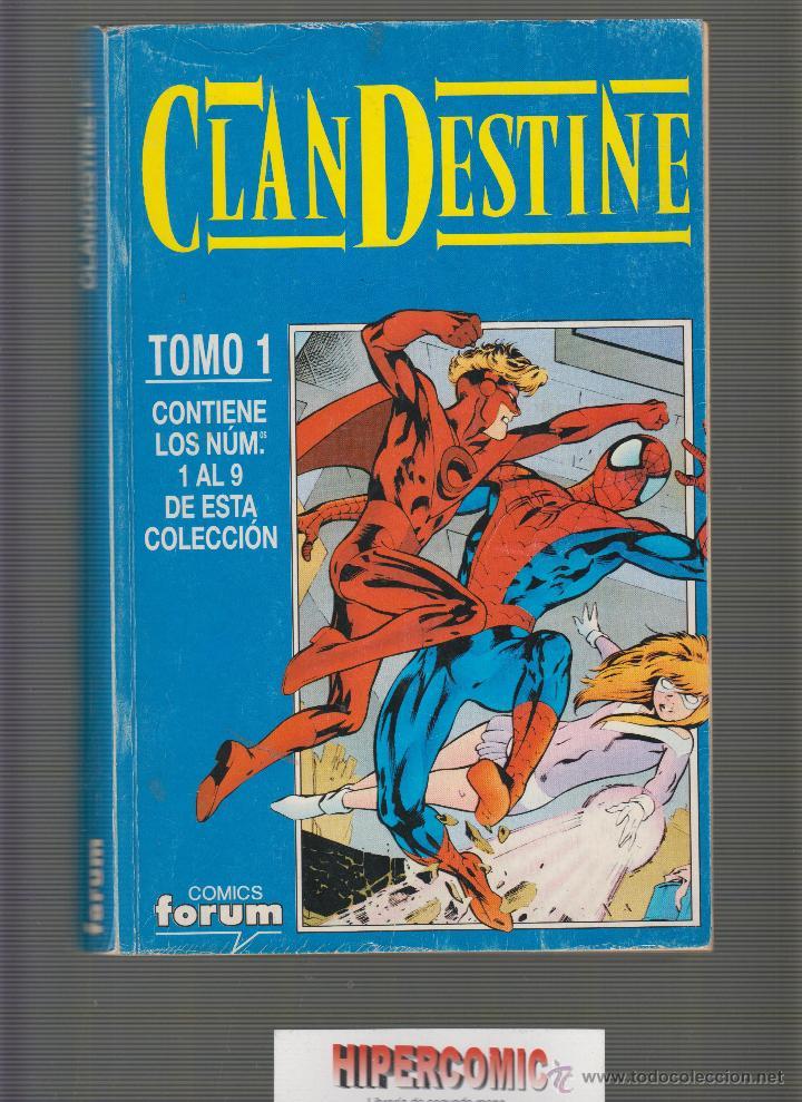 CLANDESTINE ( TOMO RECOPILATORIO CON AL COLECCIÓN 9 NÚMEROS ) / AUTOR : ALAN DAVIS (Tebeos y Comics - Forum - Prestiges y Tomos)