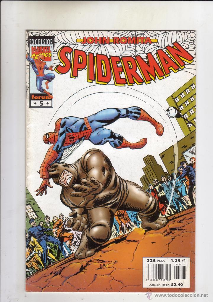 FORUM - SPIDERMAN ROMITA NUM. 5 .MBE (Tebeos y Comics - Forum - Spiderman)