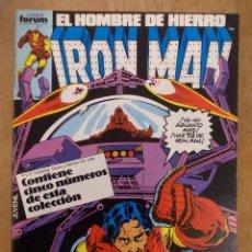 Cómics: IRON MAN-TOMO RECOPILATORIO-5 EJEMPLARES DEL 21 AL 25-FORUM. Lote 51692676