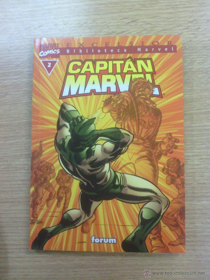 BIBLIOTECA MARVEL CAPITAN MARVEL #2 (Tebeos y Comics - Forum - Otros Forum)