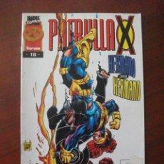 Cómics: PATRULLA X VOL II Nº 18 FORUM C4. Lote 51928290