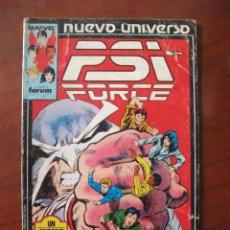 Cómics: PSI FORCE Nº 3 NUEVO UNIVERSO FORUM C4. Lote 52005122