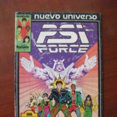 Cómics: PSI FORCE Nº 1 NUEVO UNIVERSO FORUM C4. Lote 52005156