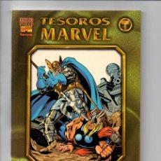 Cómics: TESOROS MARVEL LOS AÑOS PERDIDOS EL PODEROSO THOR - Nº 1 Y 2 (NO VERTICE).FORUM. Lote 52152910